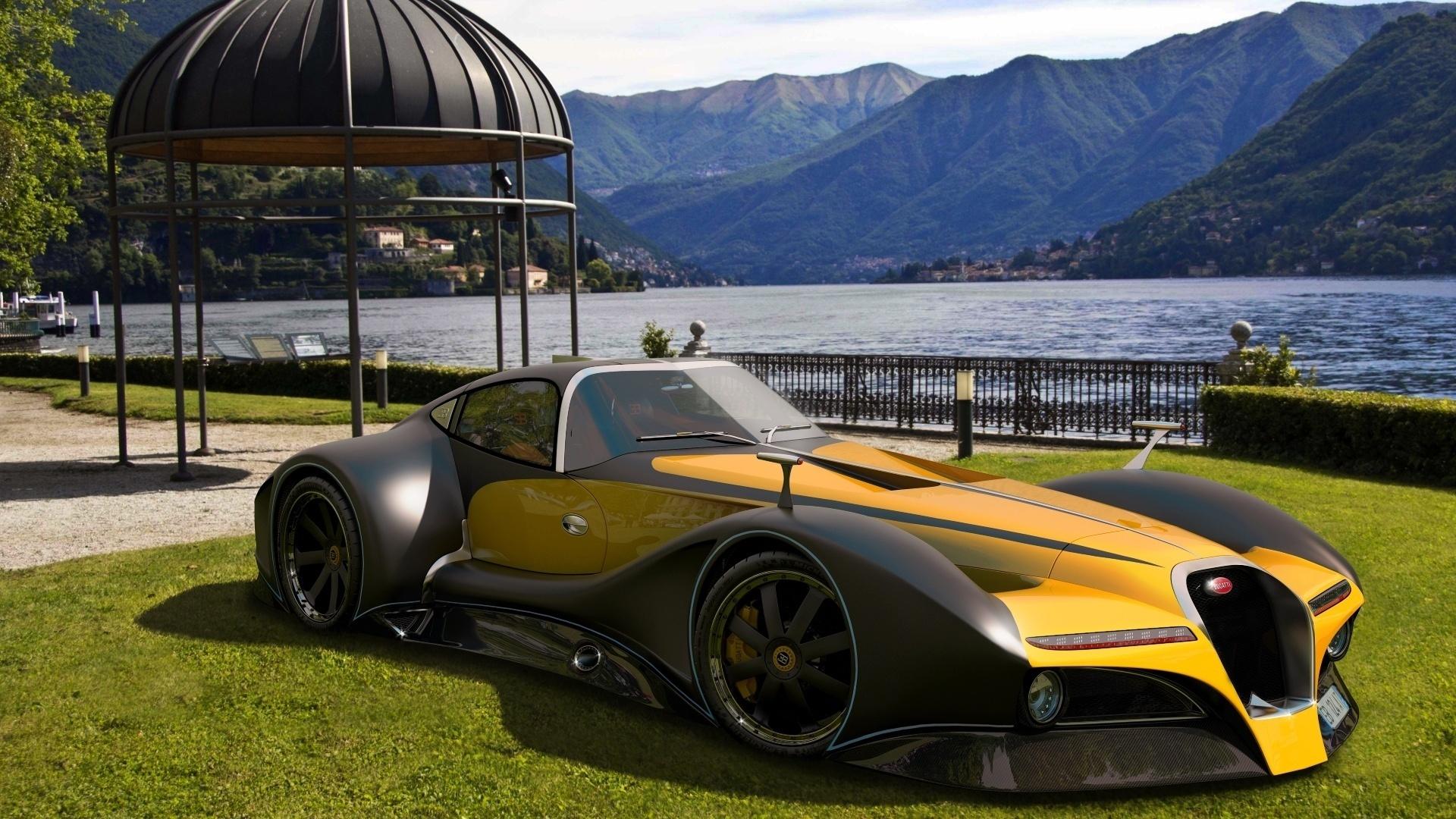 2014, bugatti, 12.4 atlantique, concept car