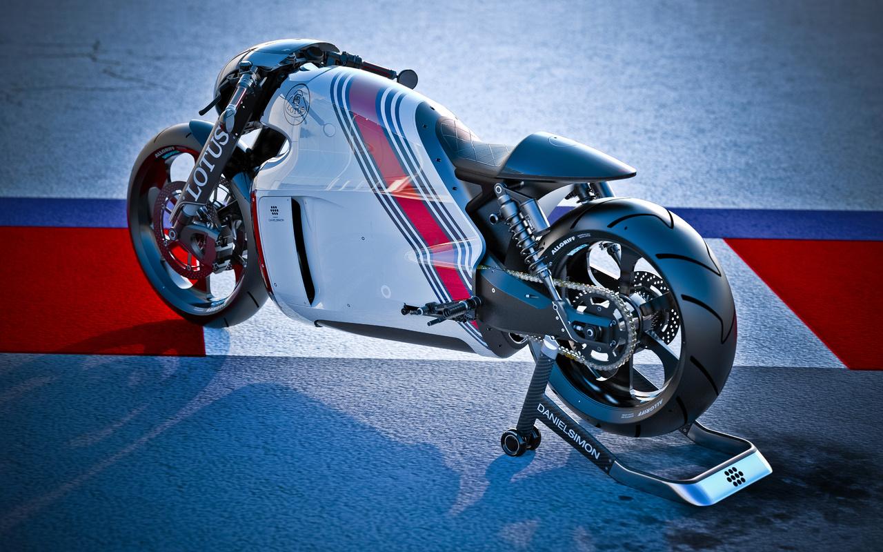 lotus c-01, bike, лотус, рендер, мотоцикл