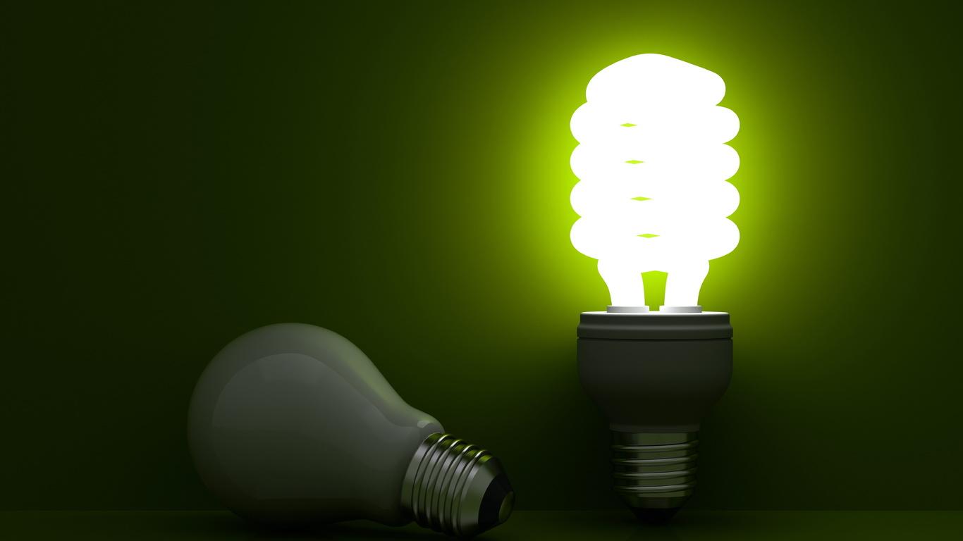 лампочка, свет
