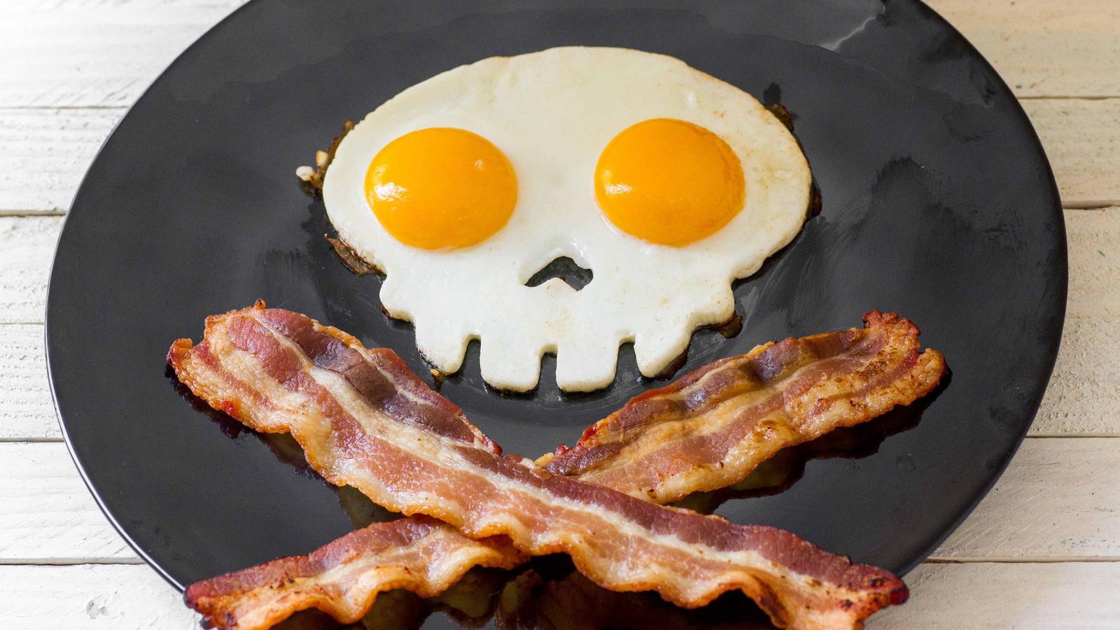 Завтрак картинки смешные