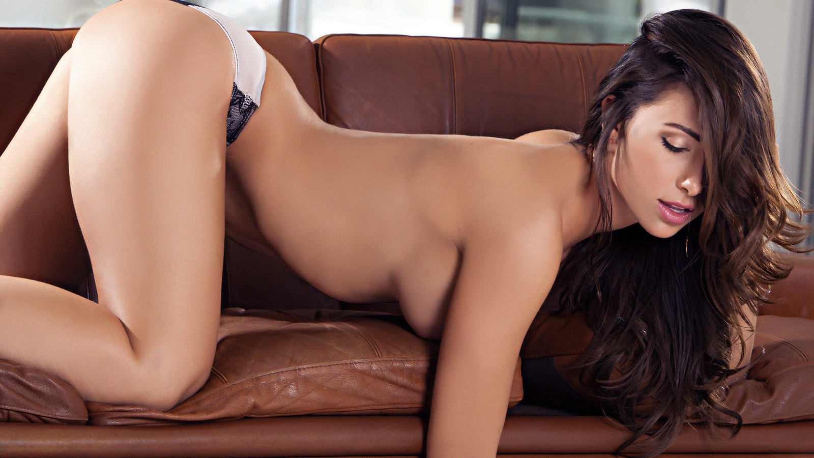 девушка, шатенка, позирует, секси, фото, casey connelly, грудь, губки