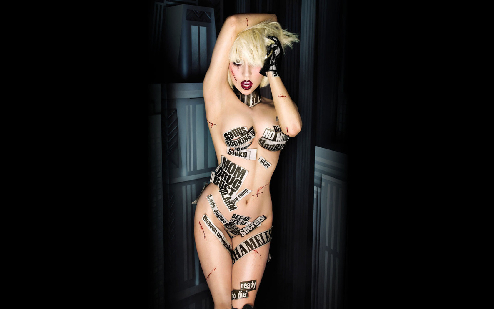 Lady Gaga Poses Nude, Reveals Troubling Medical Issues