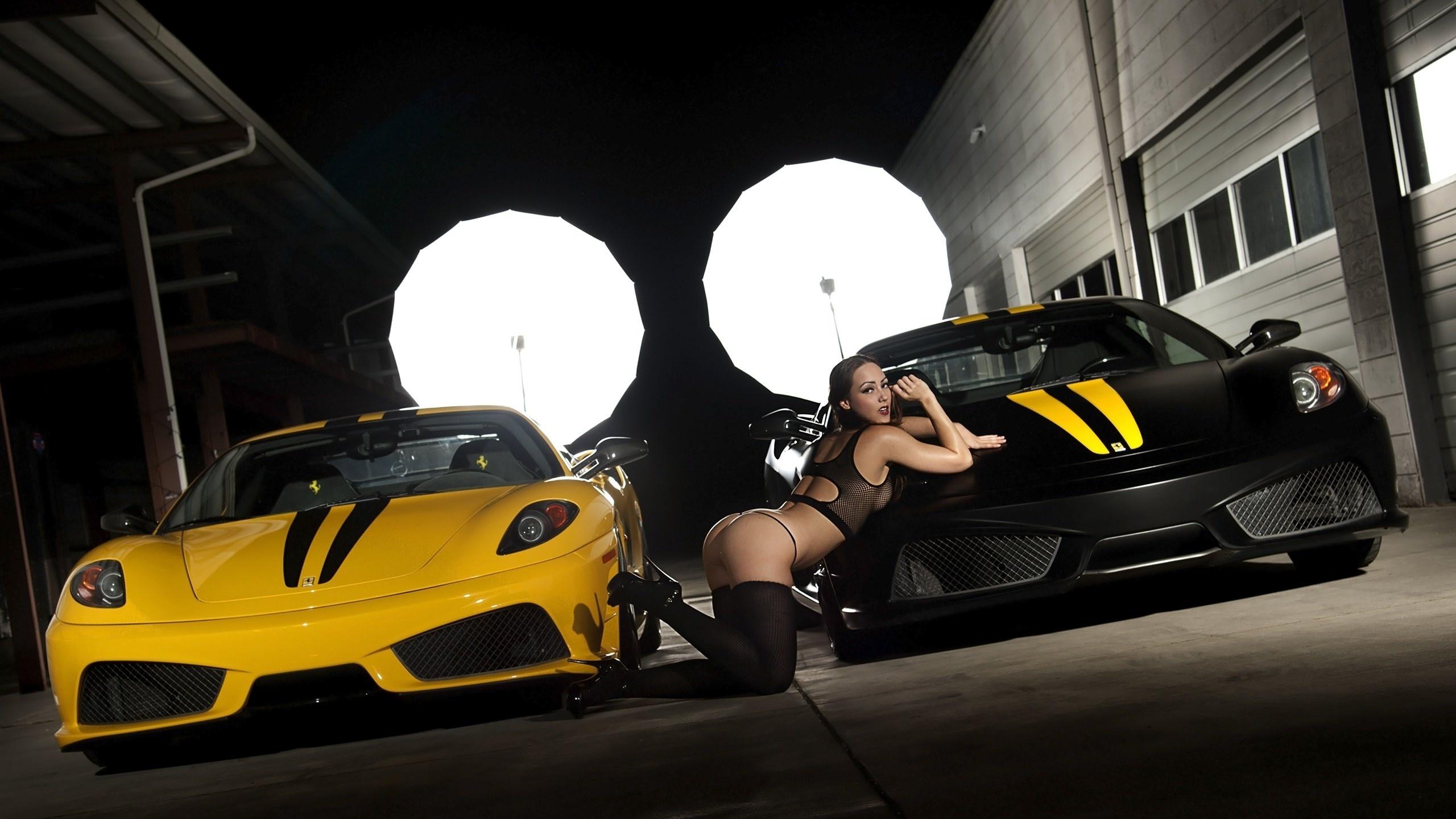 машины девушки новые секси