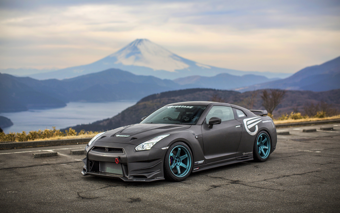 тюнинг, car, carbon, nissan gt-r, tuning