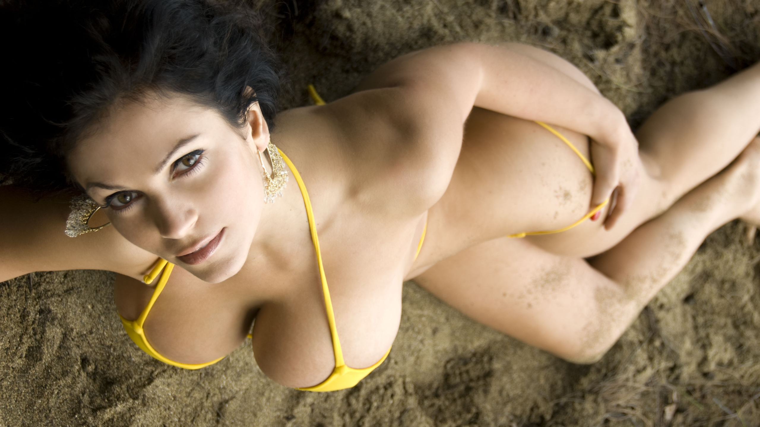 Image denise milani ass buttocks naked sexy sleepwear female high