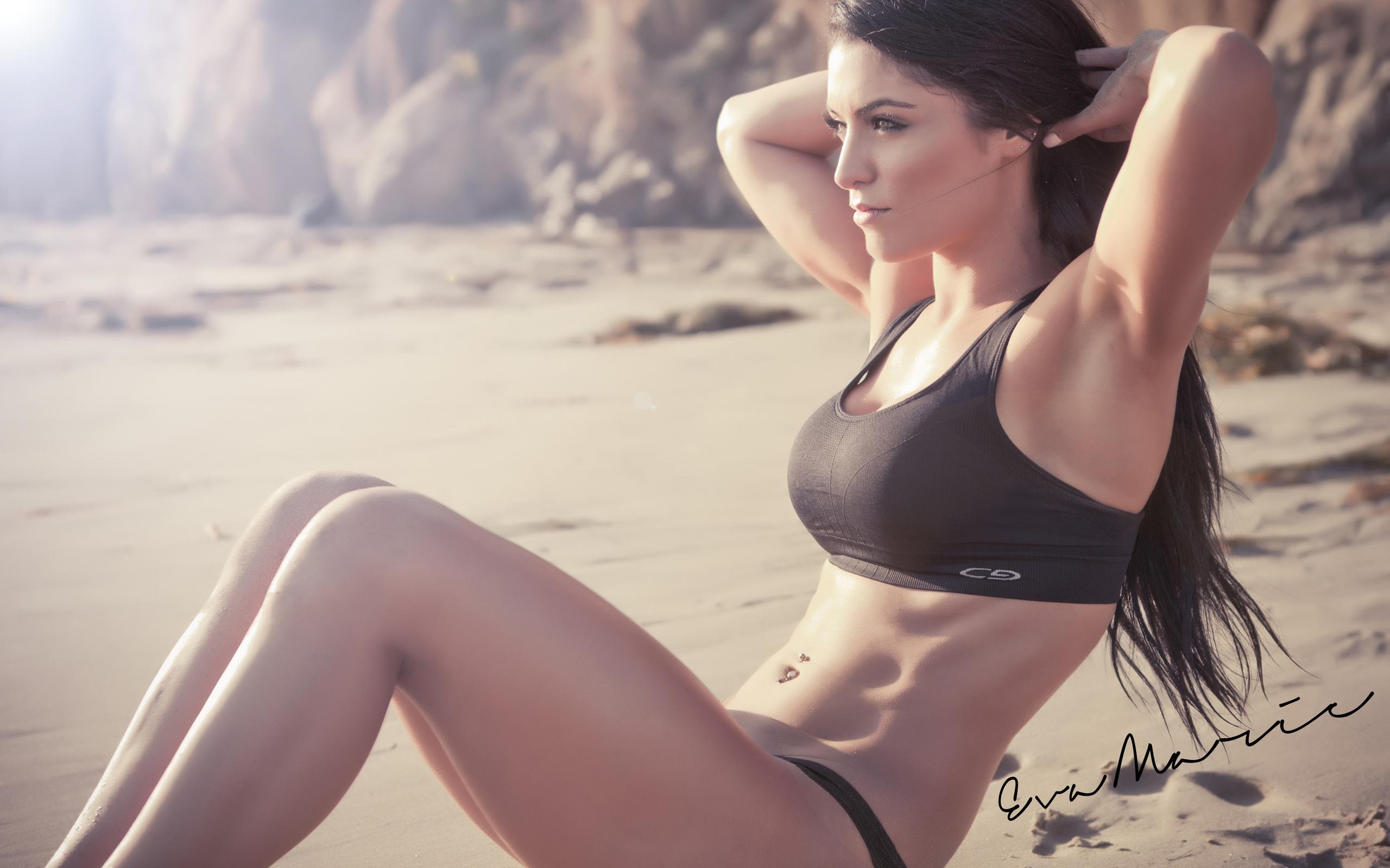 Спортивные девушки на пляже, Сексуальные девушки на пляже Ежедневный мужской 22 фотография