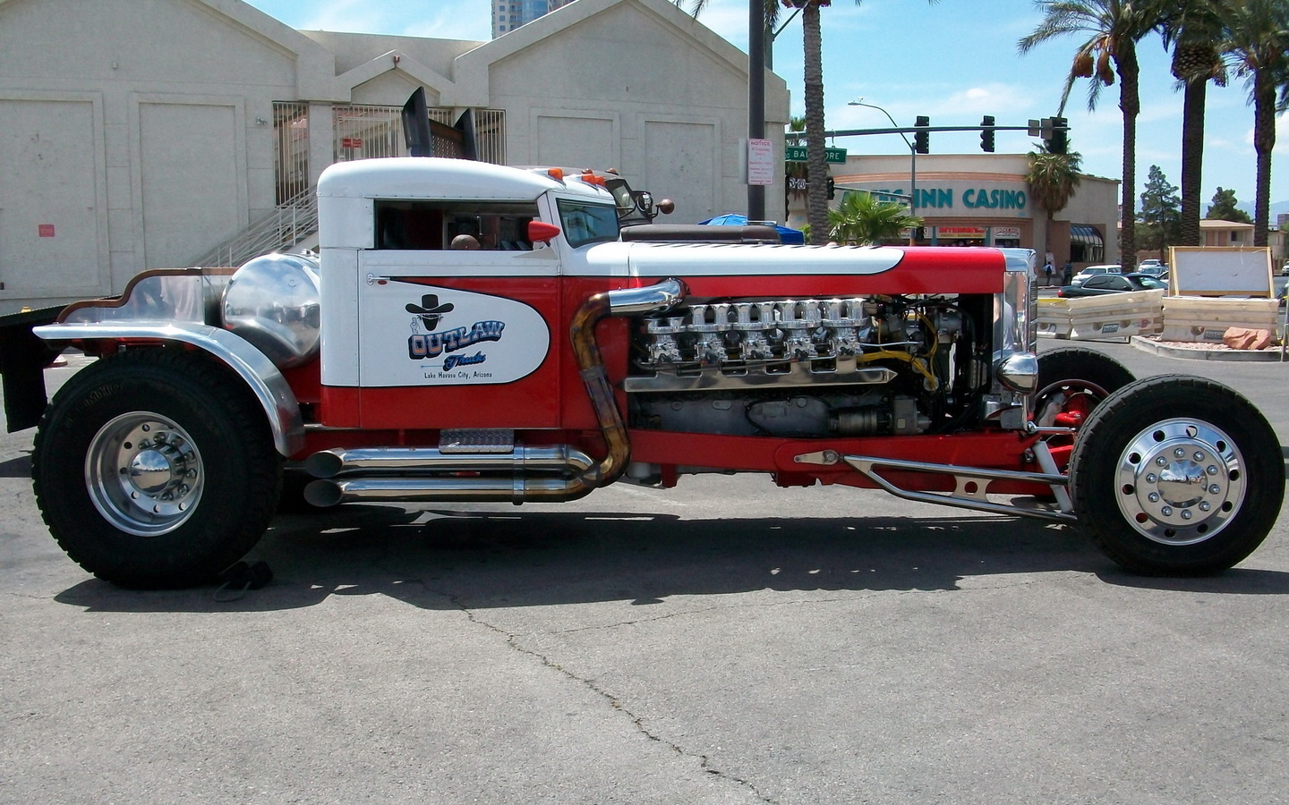 peterbilt, red, white, car, truck, truck wheels and tyres, truck v10 engine
