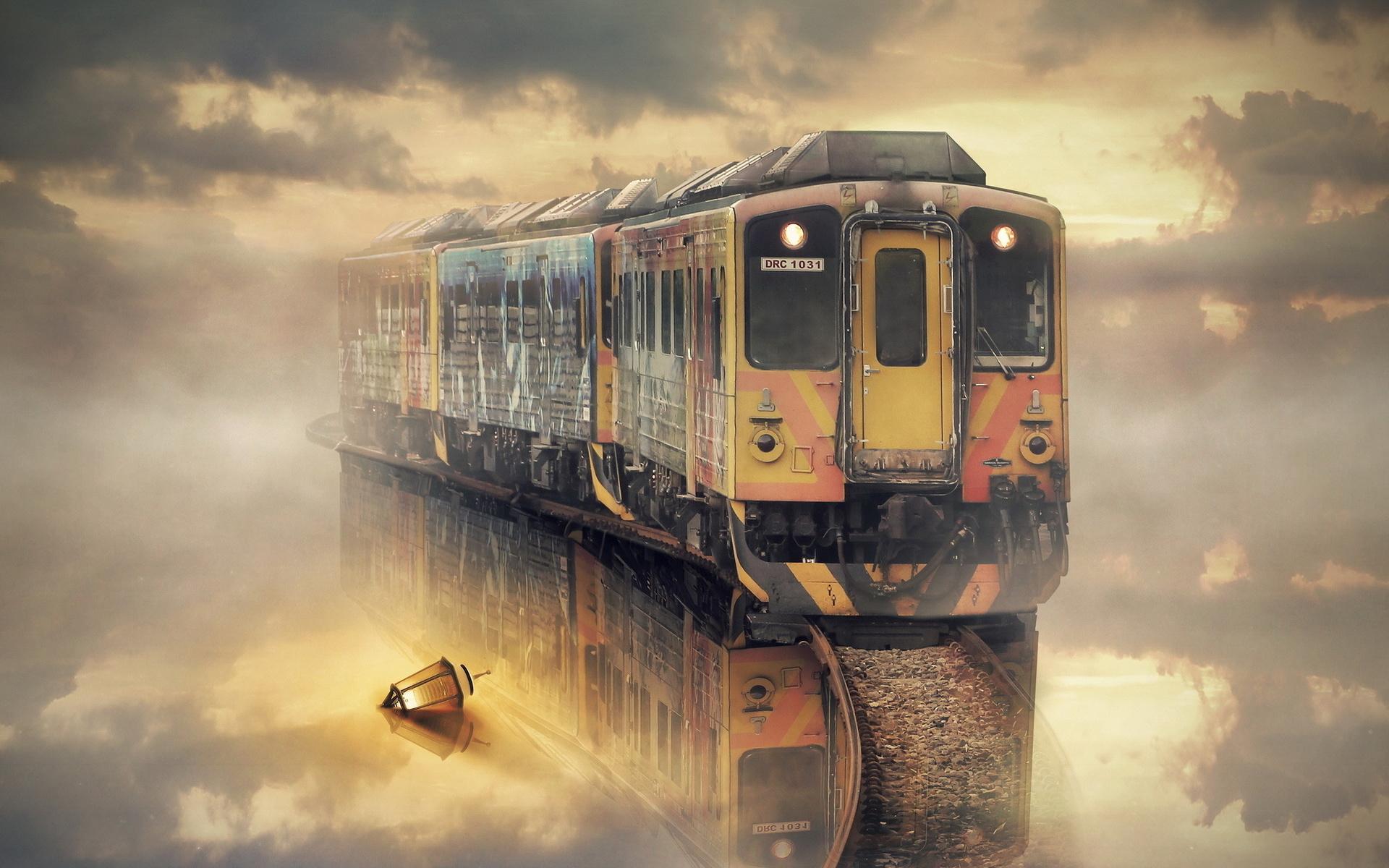 Крутые картинки с поездом, февраля