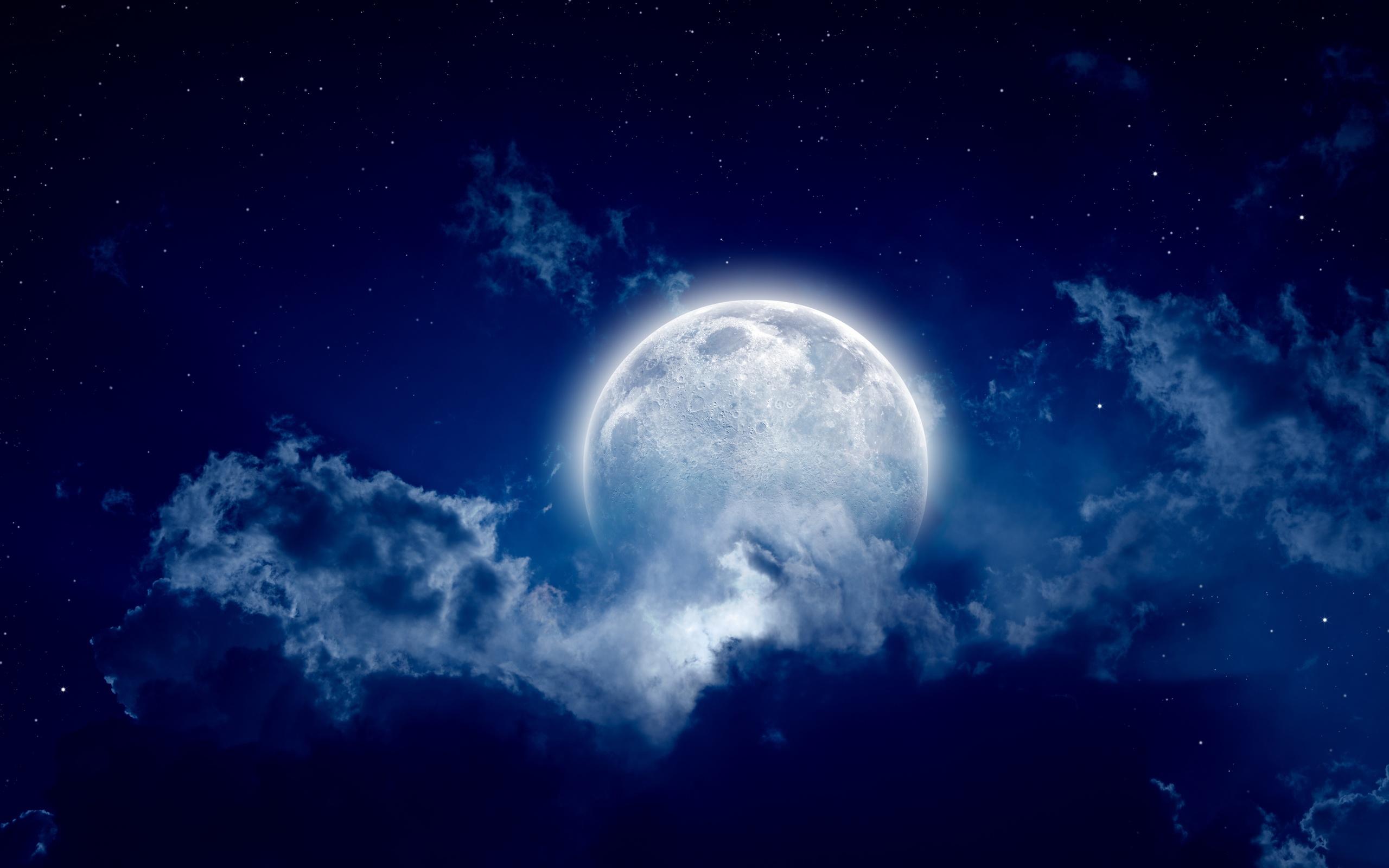 Картинки красивые про луну