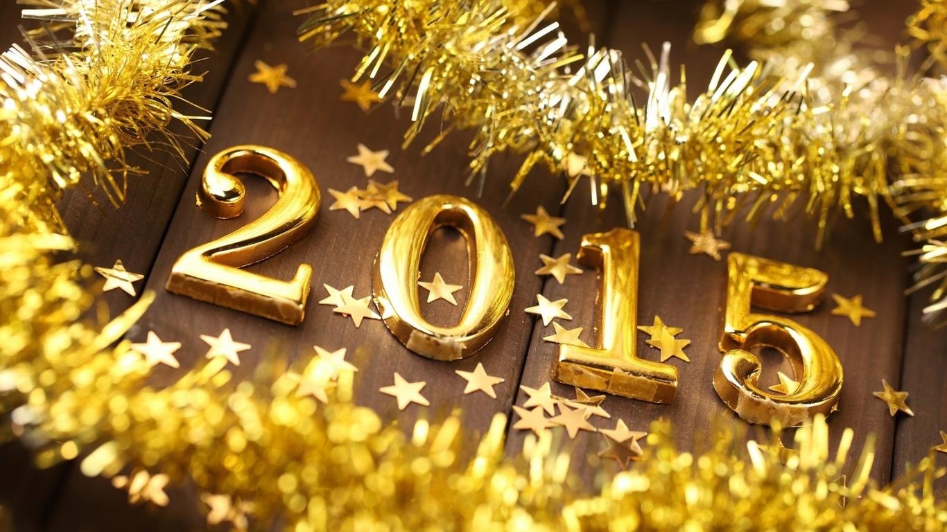 новогодние обои, 2015 год