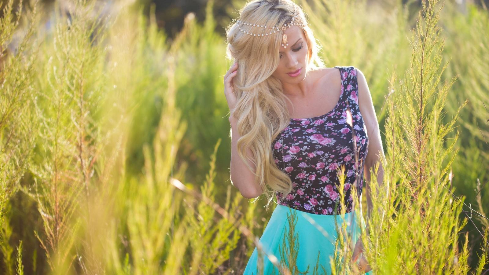 aida ridic, девушка, блондинка, макро, фото, природа, красива