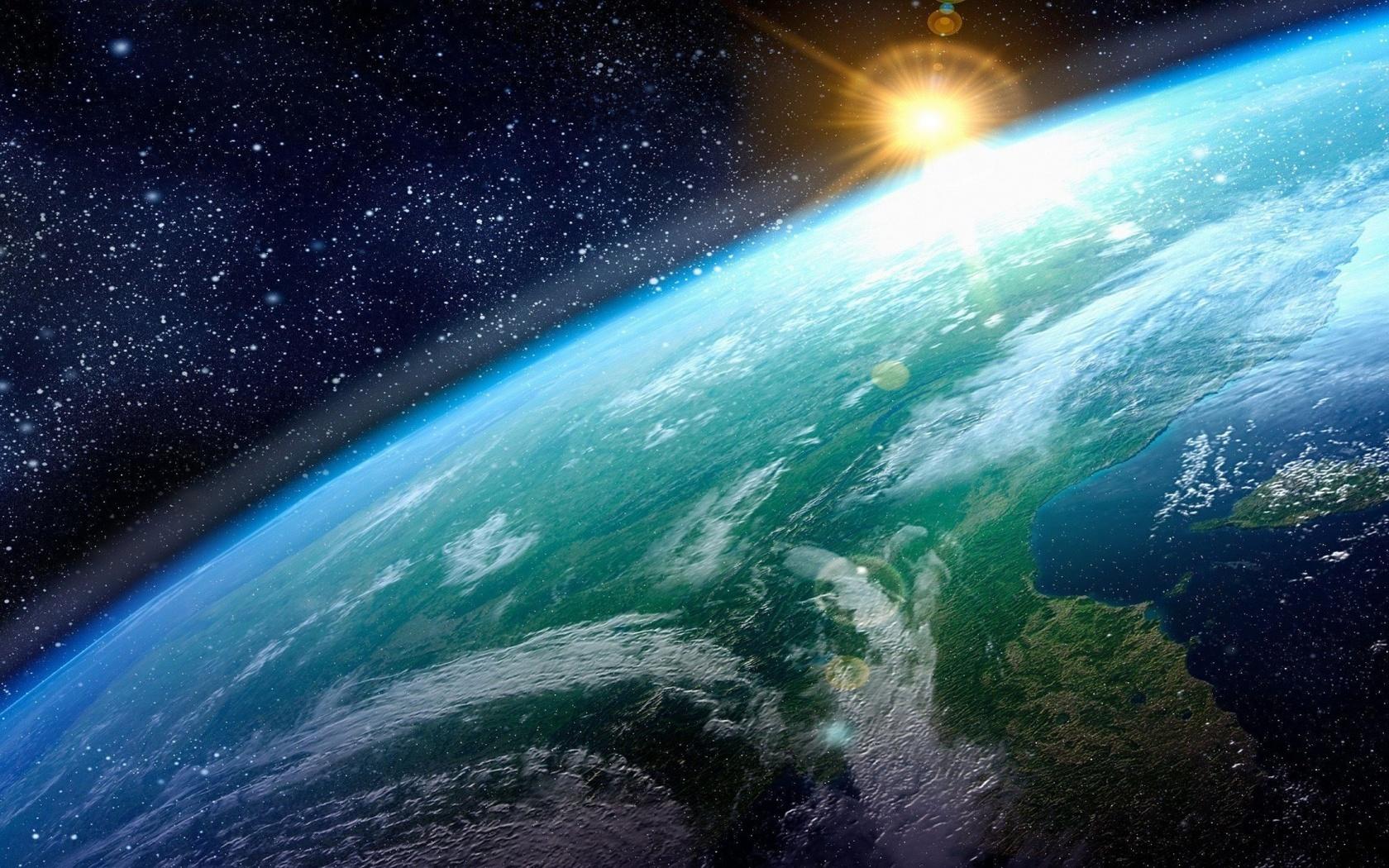 earth, sun, space, sky, universe