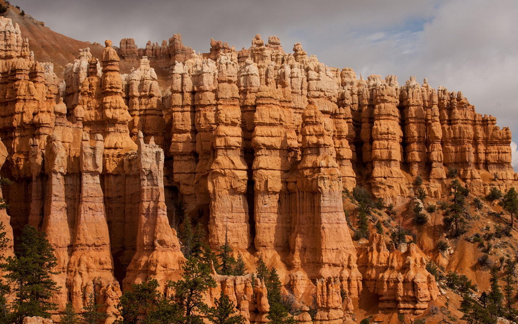 сша, юта, скалы, небо, каньон, красота