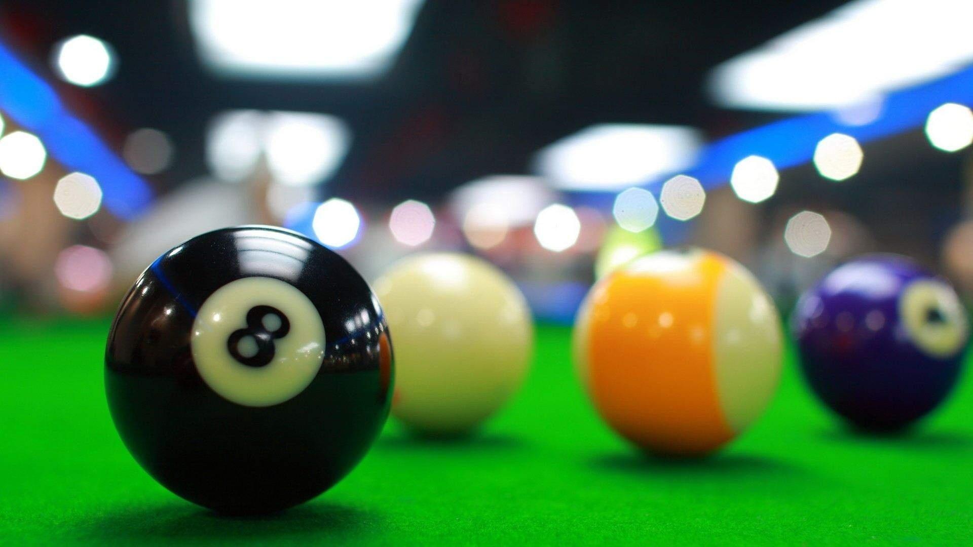 billiard, balls, table, game