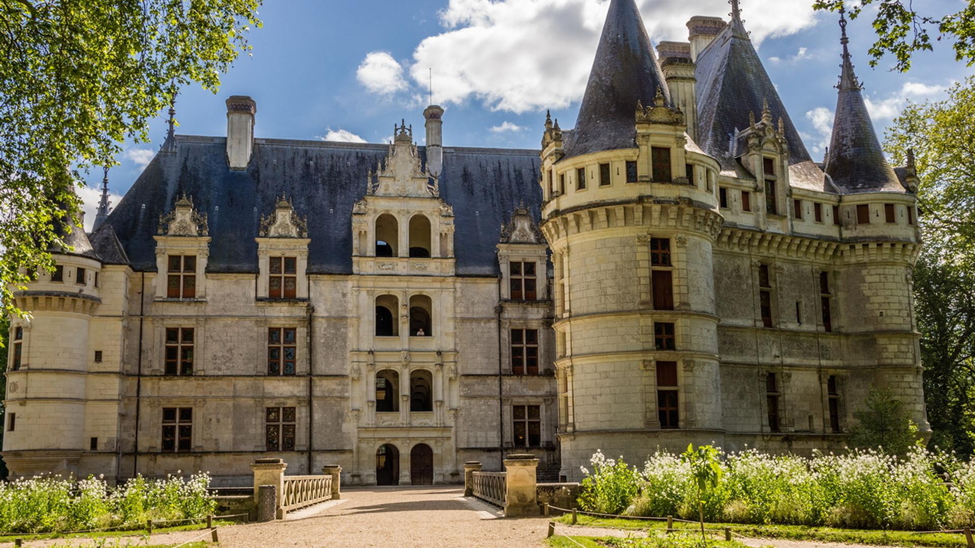 франция, замок, замки франции, красота, замки мира,