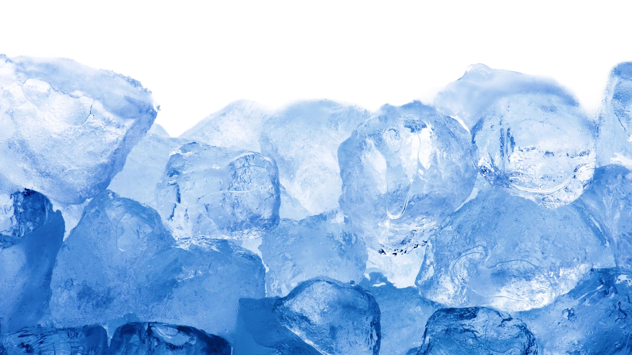 ice, cubes, blue, лед, кубики