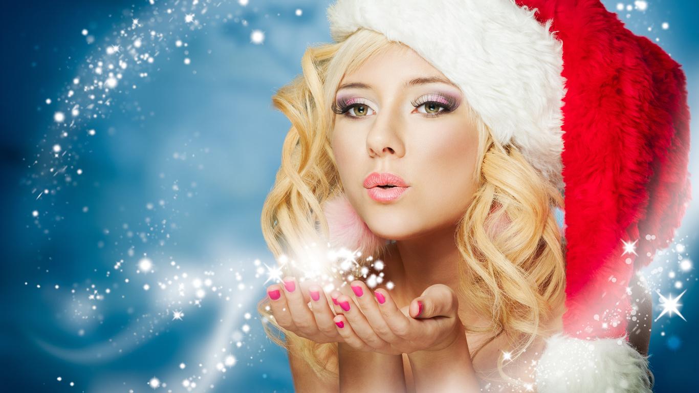 всё так красивые новогодние картинки снегурочки брюнетка обычном