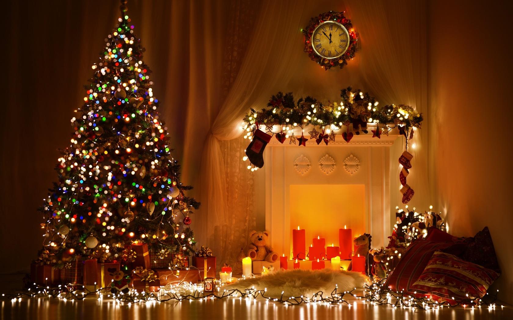 Новогодние елки картинки красивые, тепла душе