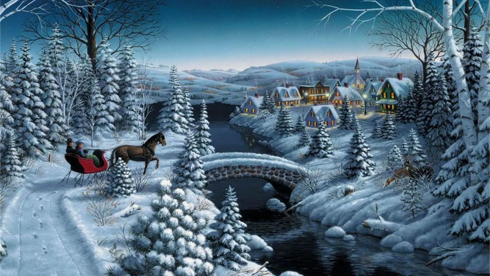 Добрым, зимняя сказка открытки красивые