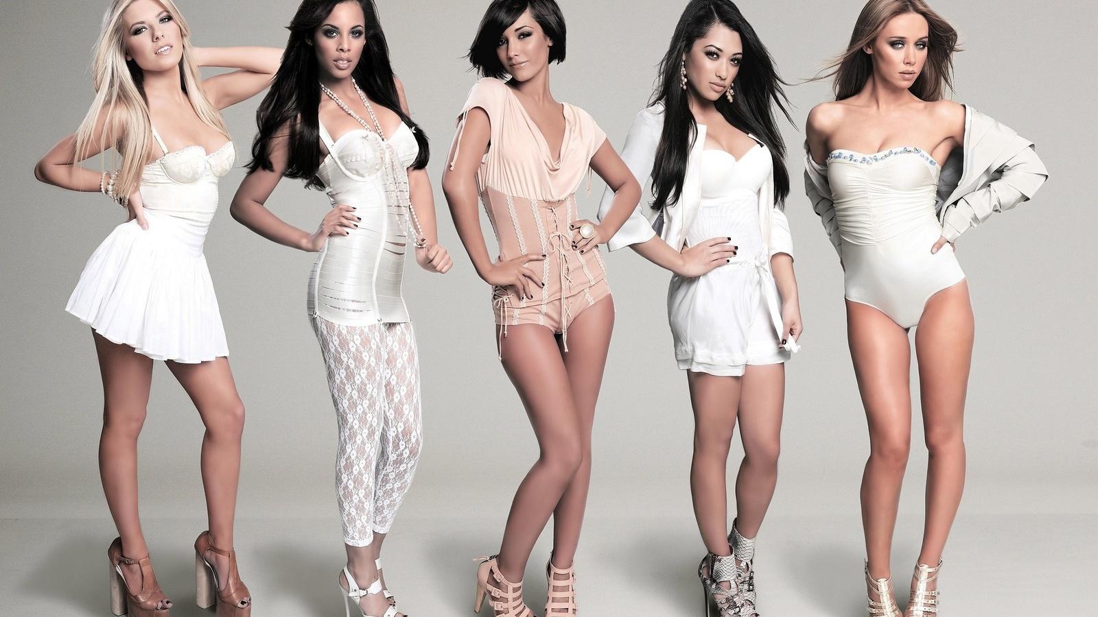 The Saturdays Vanessa White Boobs In See Through Dress