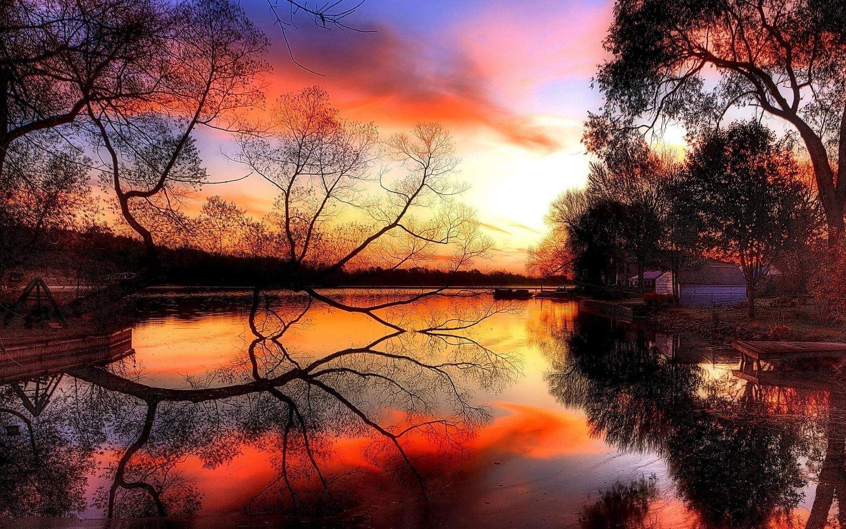 Добрым, добрый вечер картинки с природой