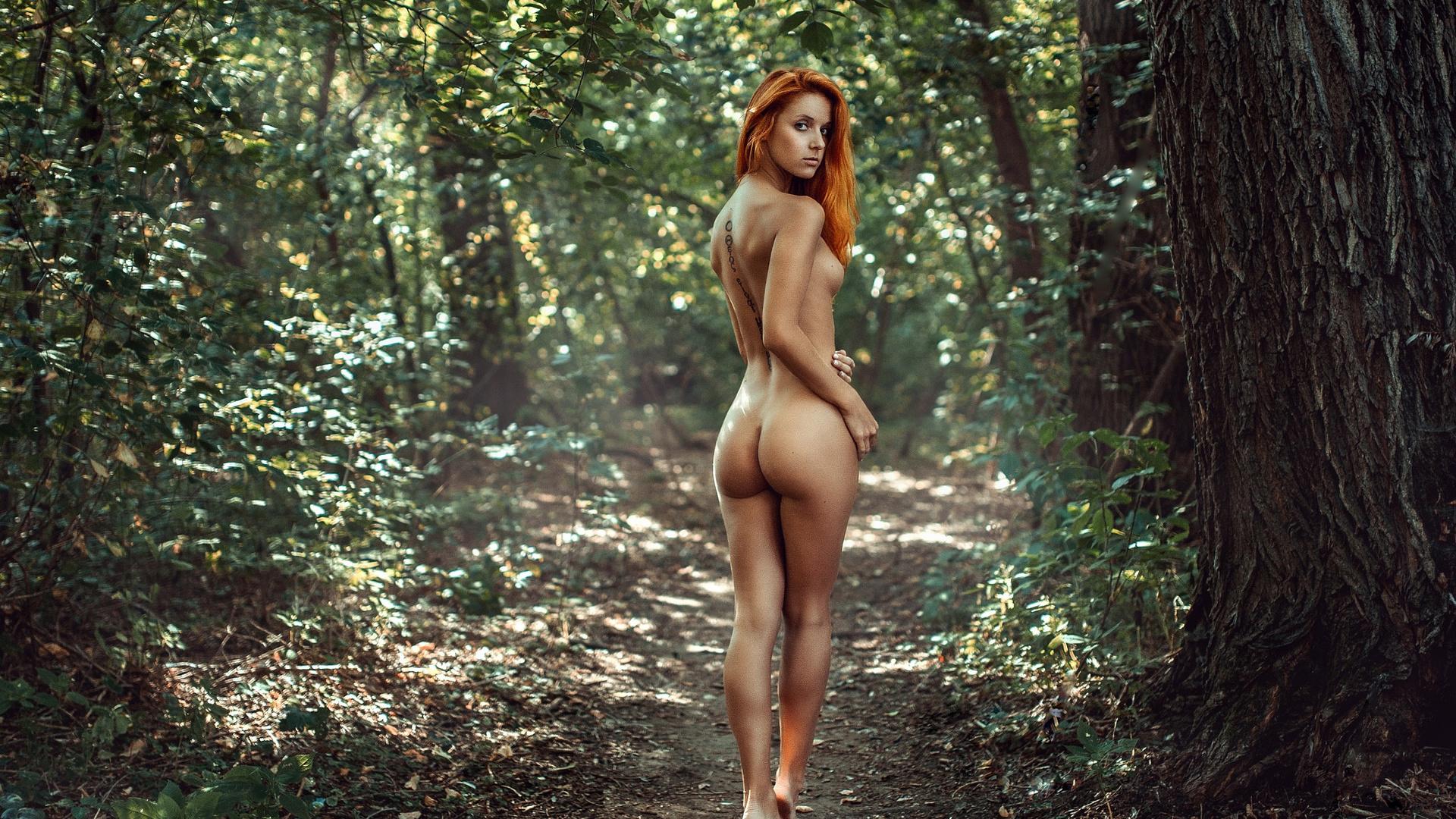 фотосессияв лесу эротическая