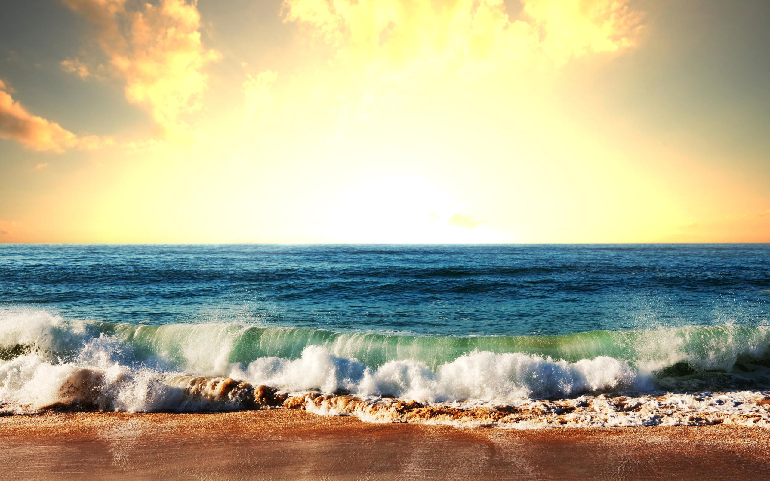 Картинка солнечного дня на море, рождением сына