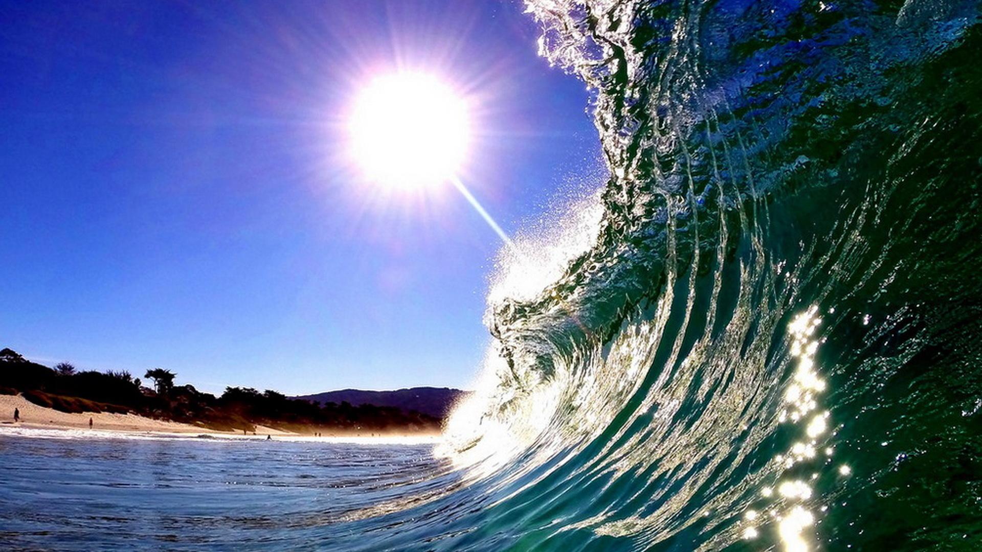 Открытки с волнами, поздравления юбилеем