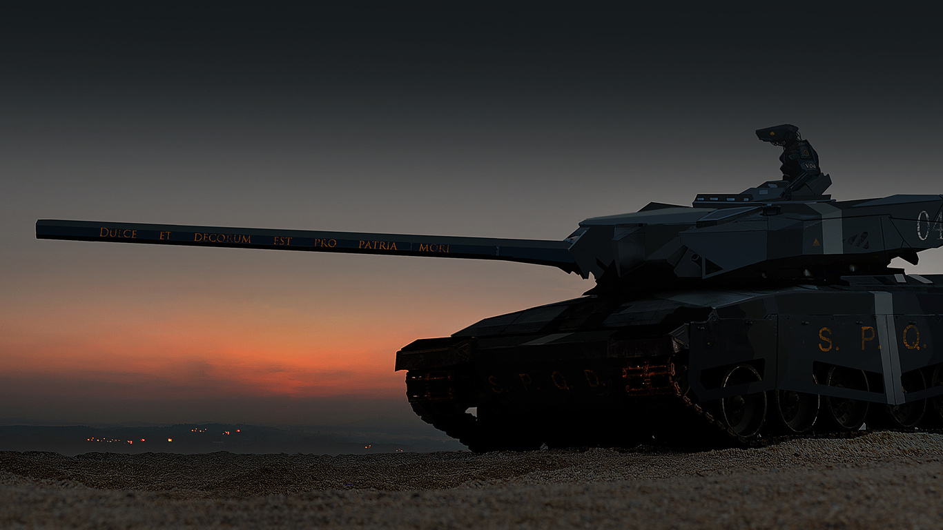 танк, робот, киборг, пустыня, арт, песок, фантастика