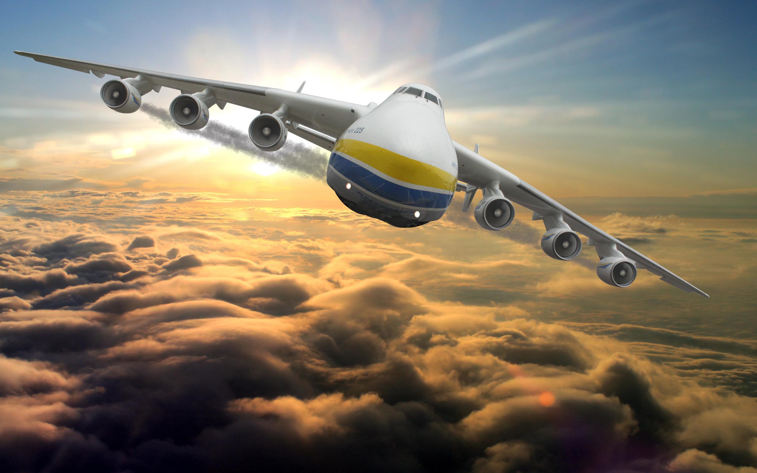 Картинка большой самолет