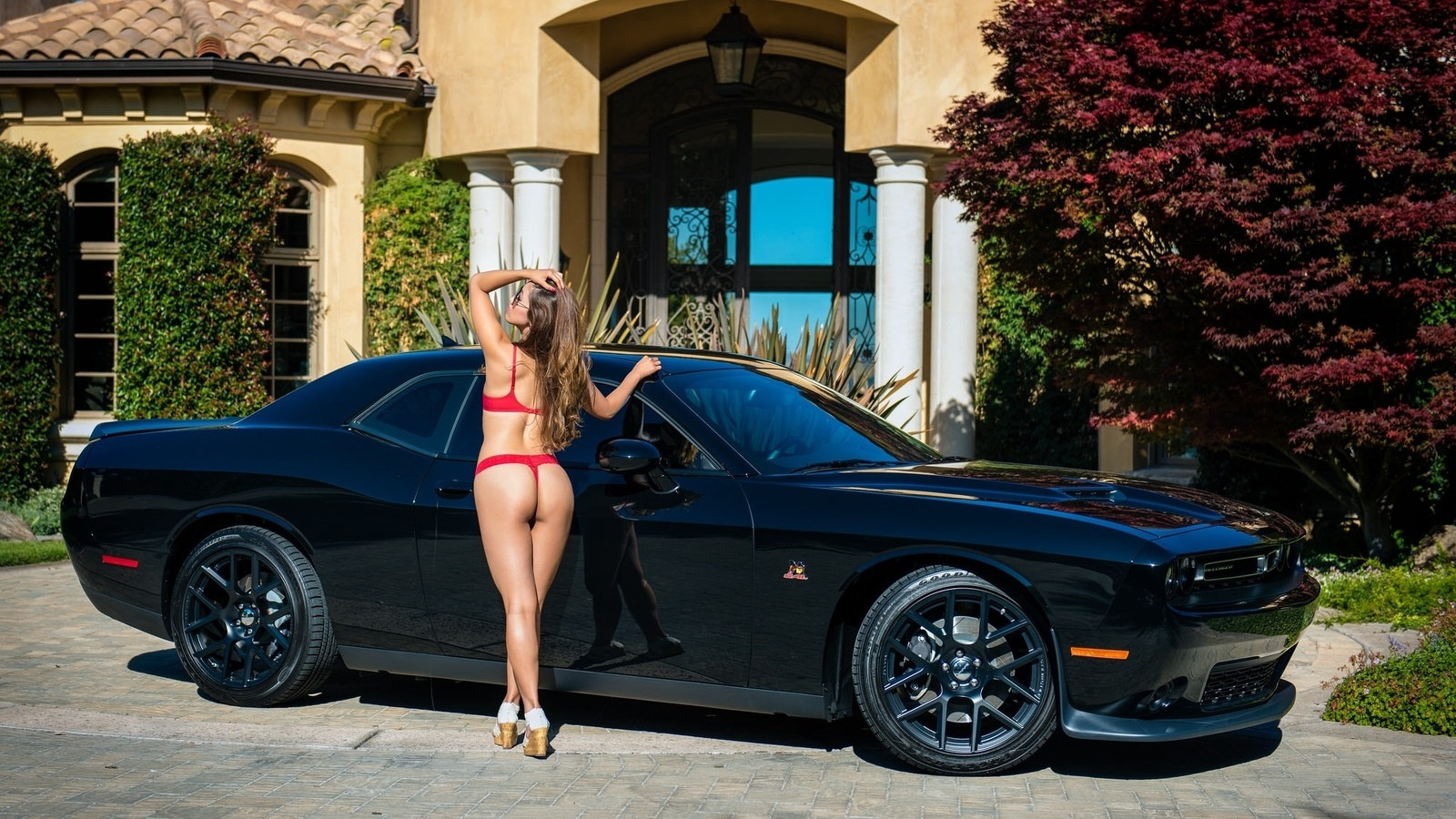 Sex pics naked girl on a black camaro musturbating linsday