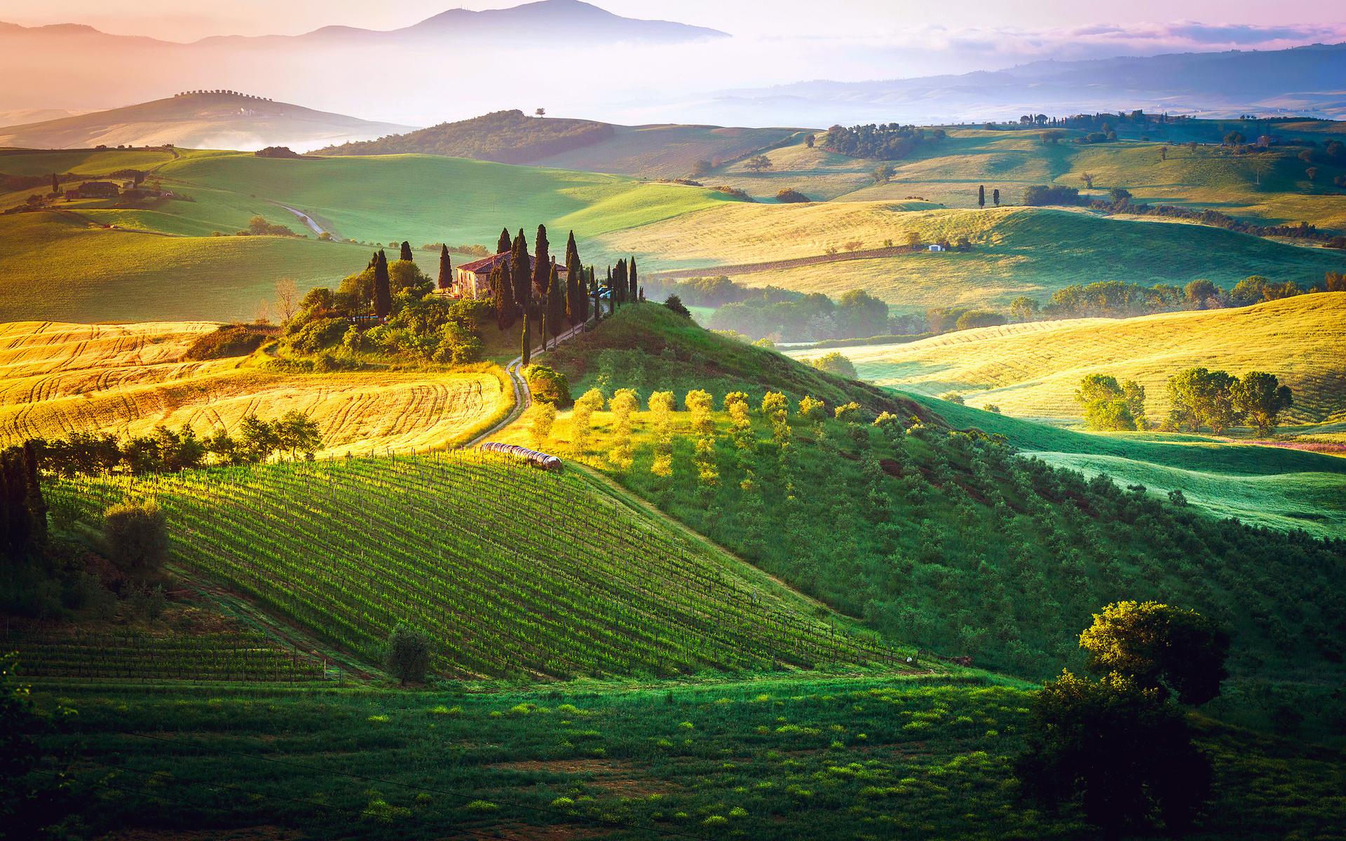 поля и долины картинки