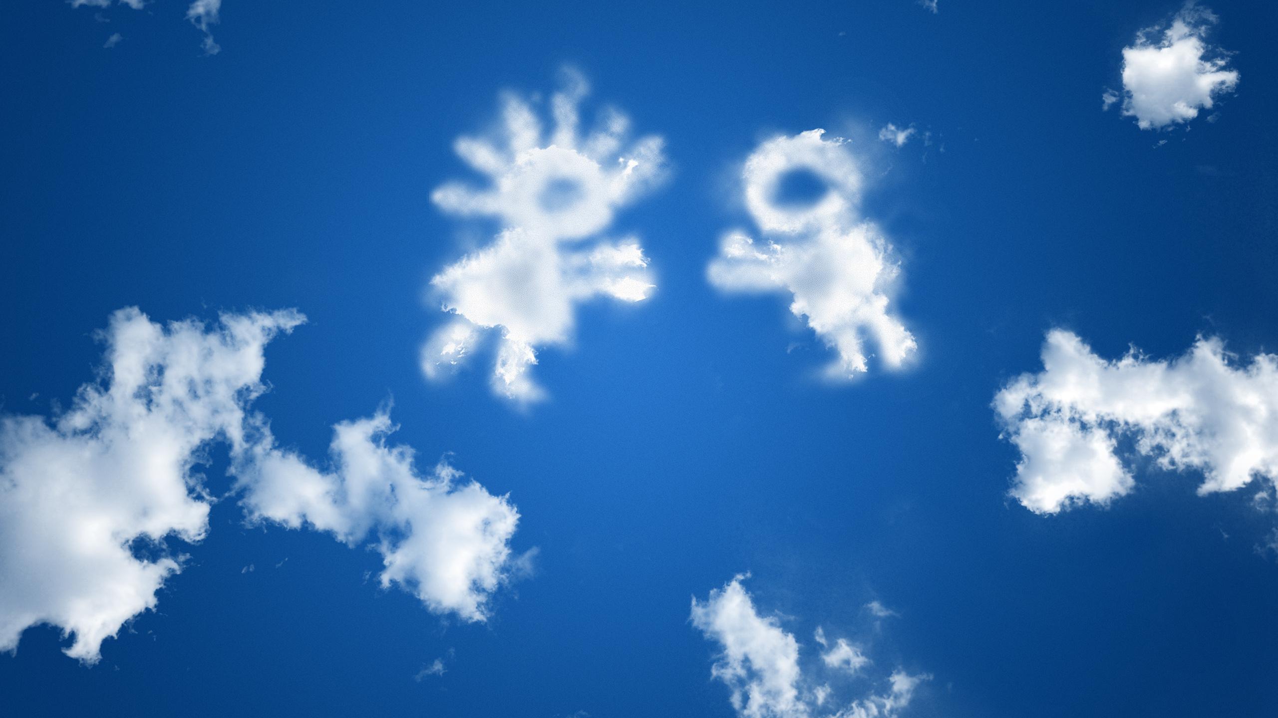 облака, креатив, фэнтези, красиво, позитивно