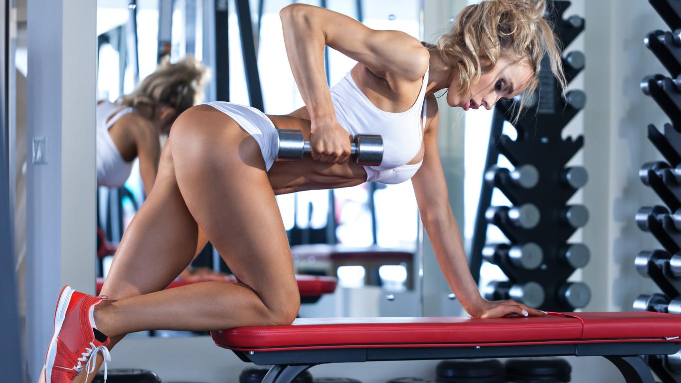 Фото девушек в фитнес зале, Спортивные девушки (37 фото) 26 фотография