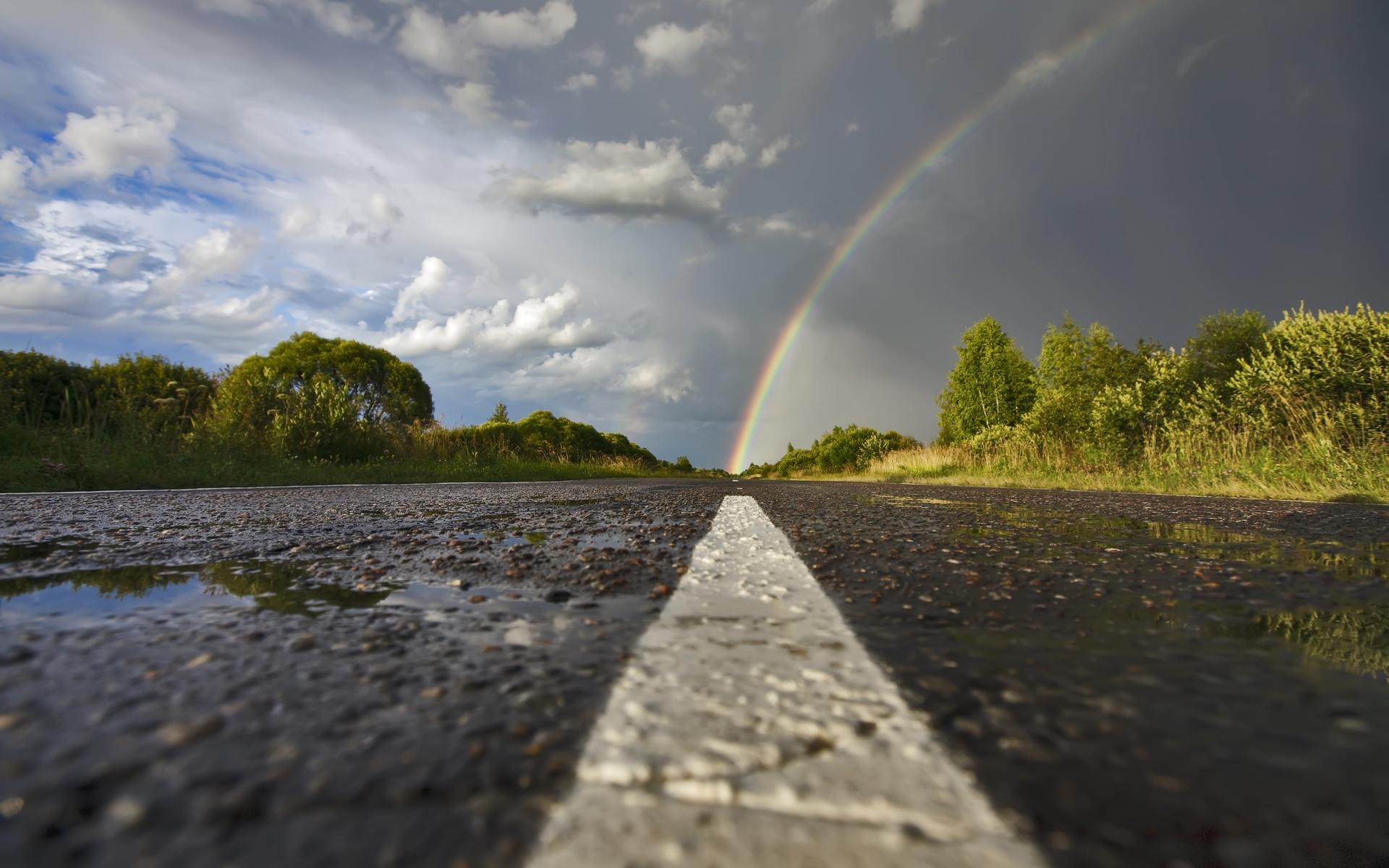 Дождь и радуга картинки, цветы для настроения