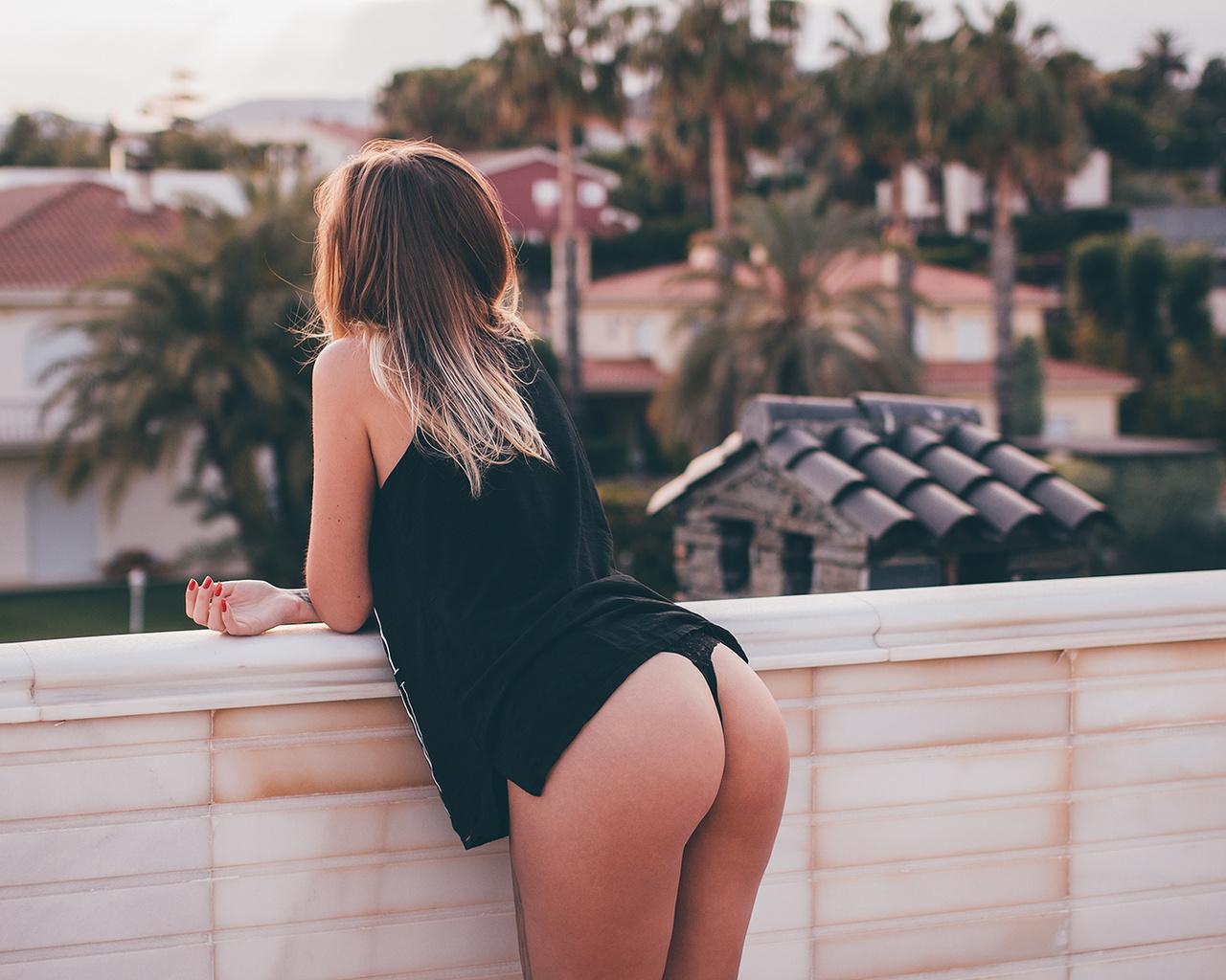 girl, ass, nude, ero