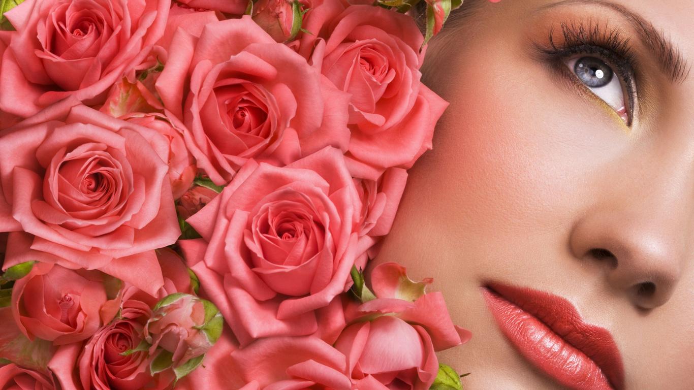 Поздравлениями рождение, открытки красивых дам