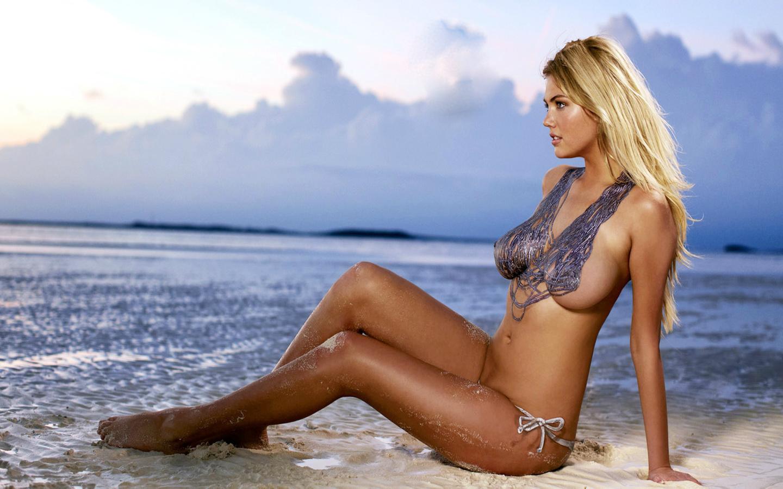 kate upton, sports illustrated, girl, model, blond, breast, boobs, topless, sea, кейт аптон, девушка, модель, топлес, волна, море, блондинка, красавица, бодиарт, bodyart, его18, ero18