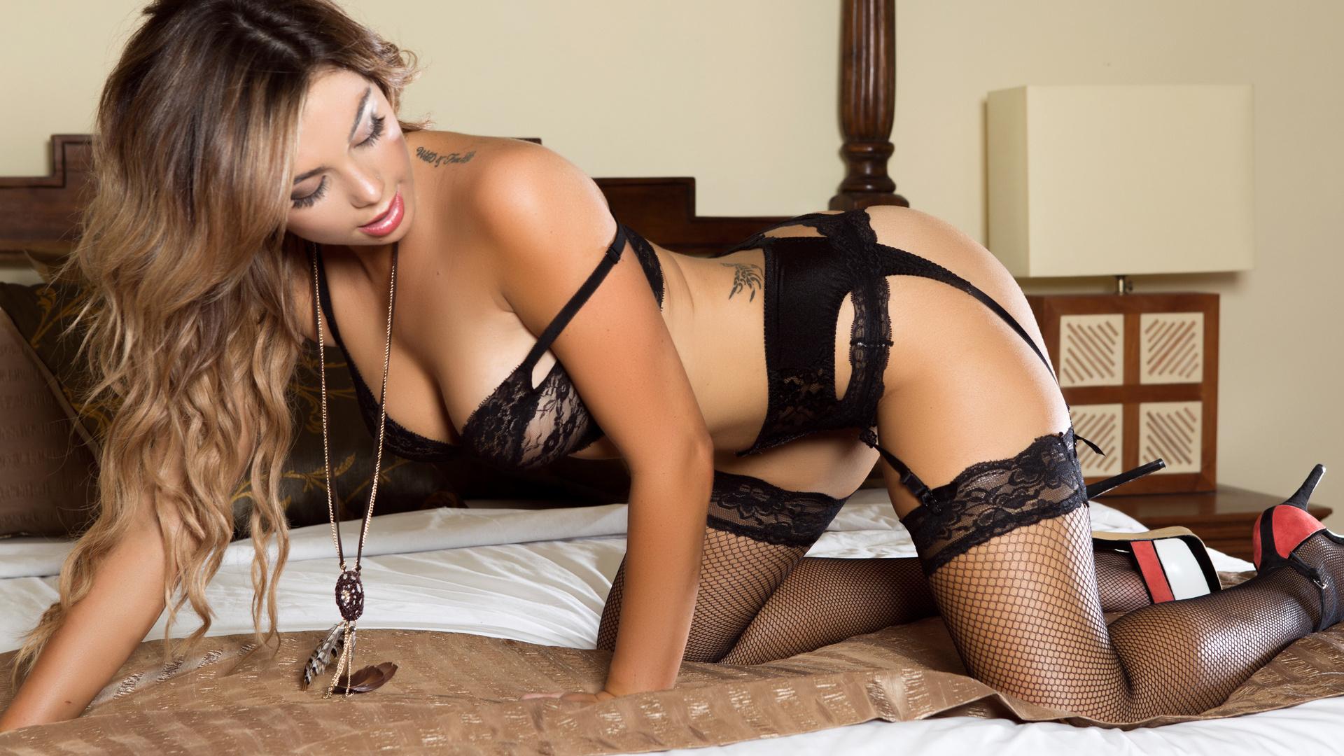 Элитная Проститутка В Черном Белье