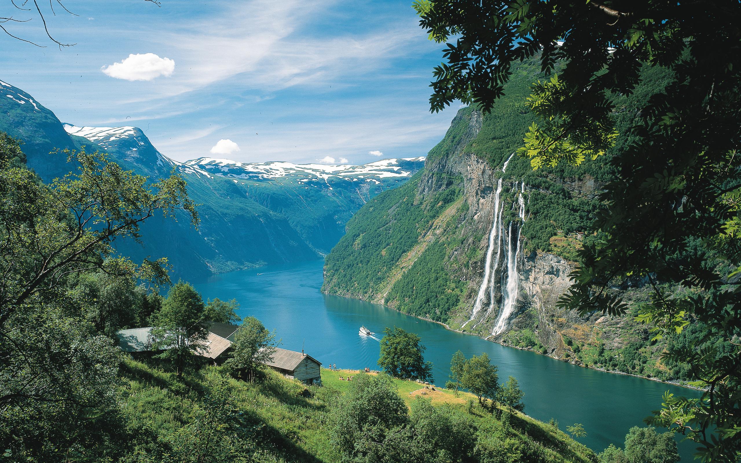 Картинки норвегия фьорды, пасхой поздравление послать