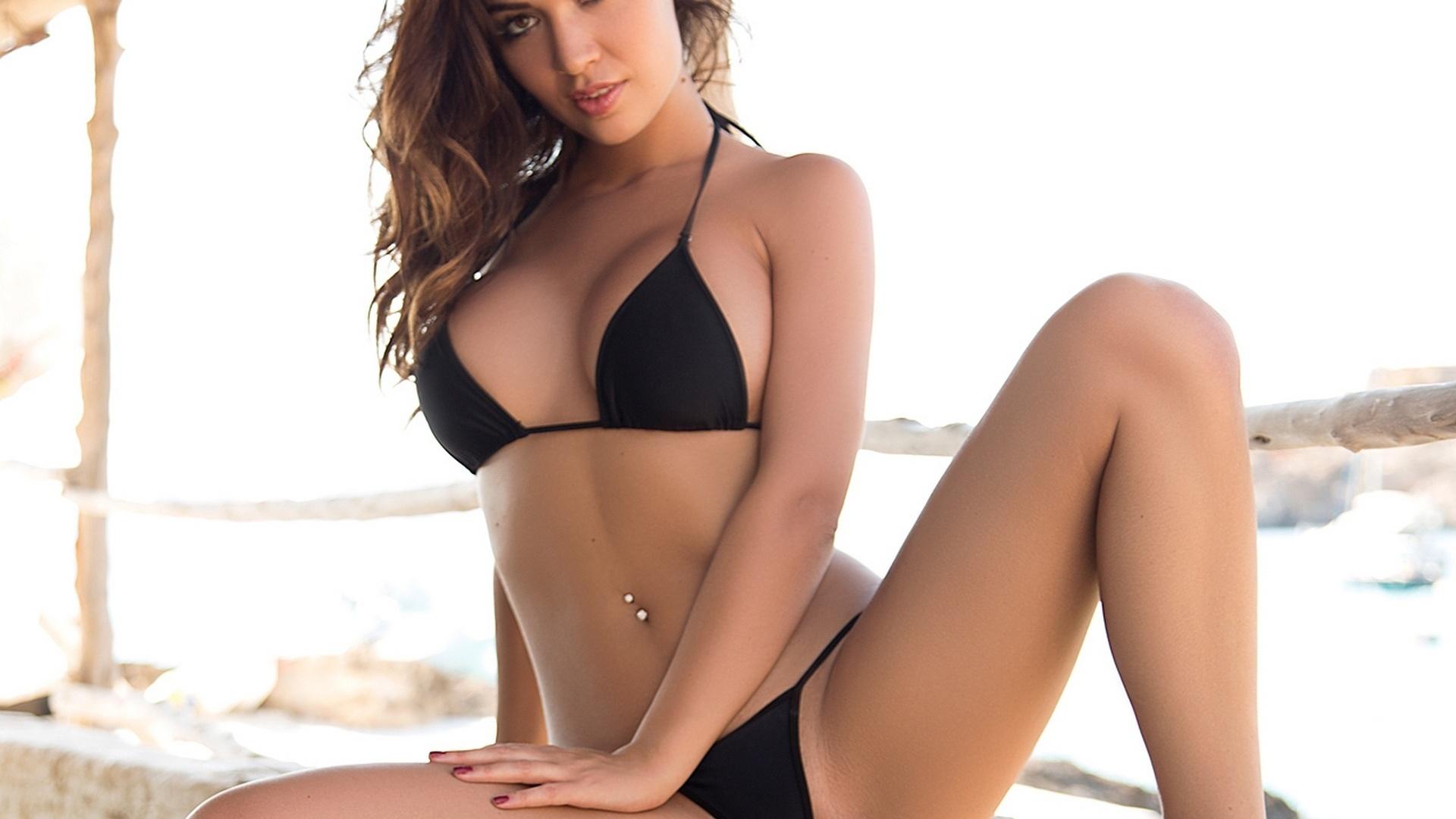 Nude beach big tit
