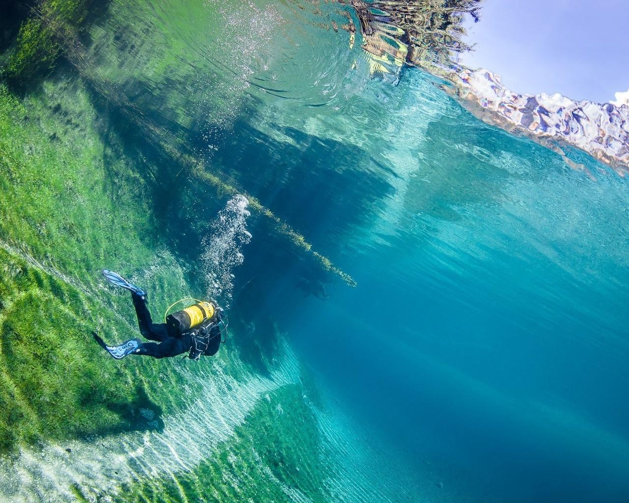 водолаз, дайвинг, фото, под водой, красиво, супер фото