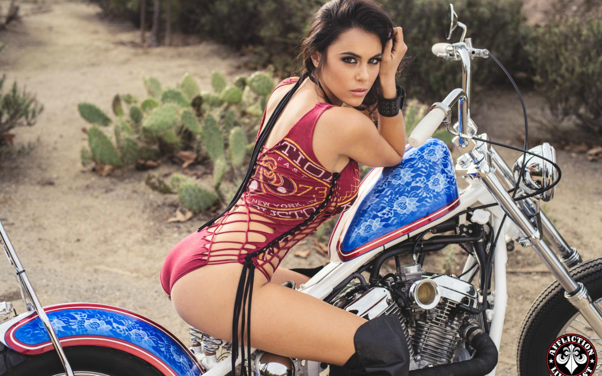 Babes boobs and bike affairs
