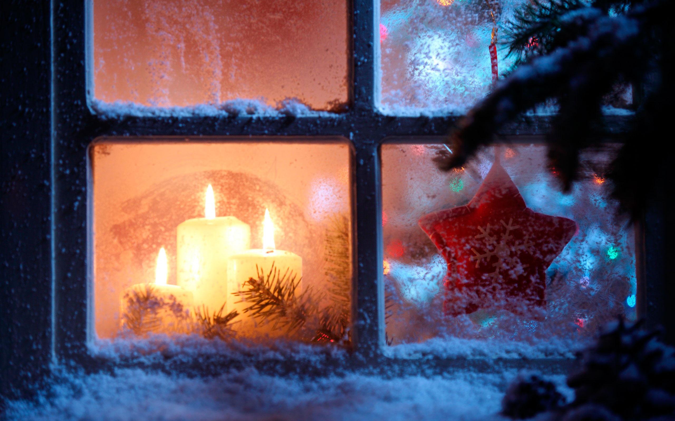 Открытки зимние окна
