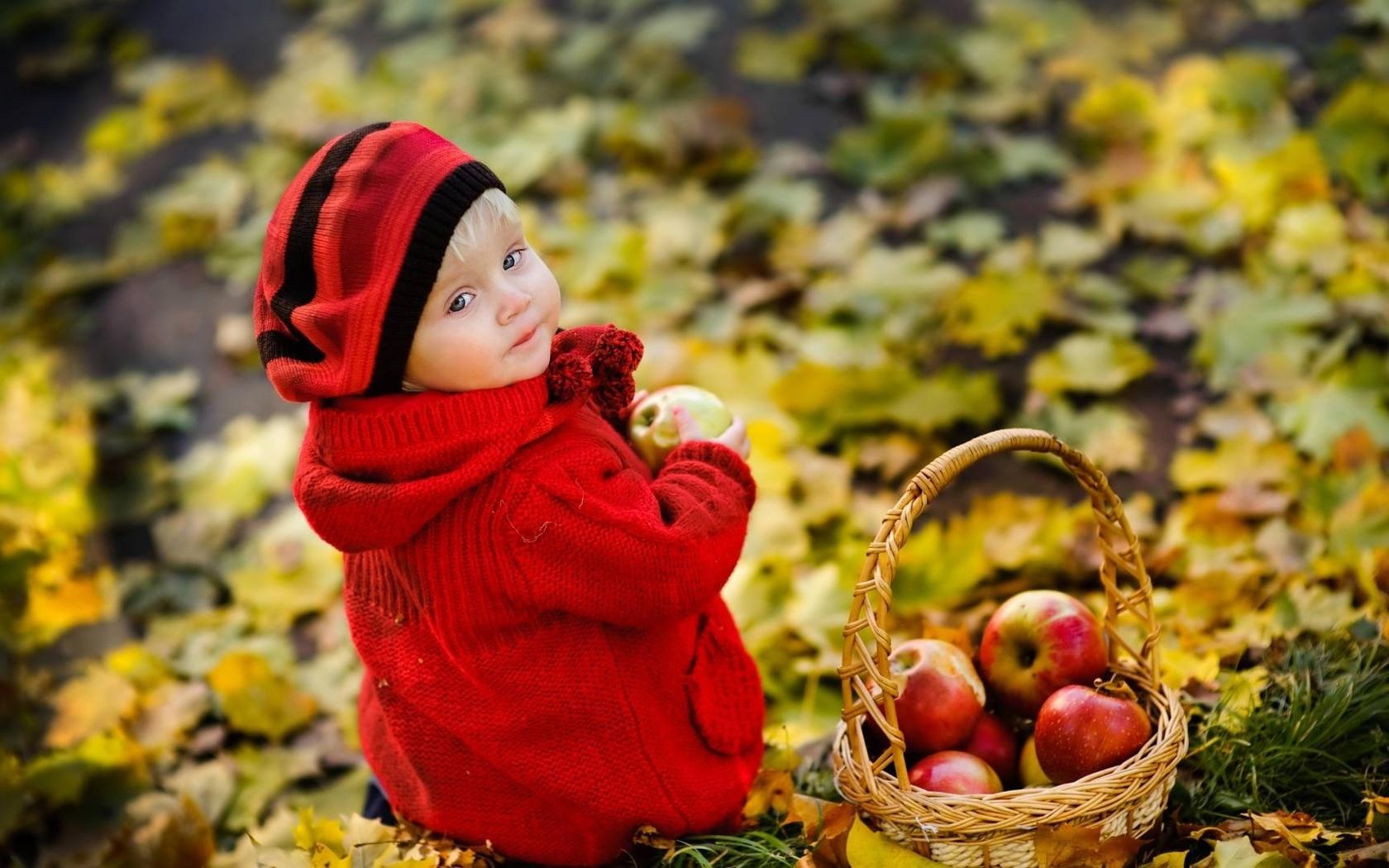 Картинки осень и дети красивые, окончанием