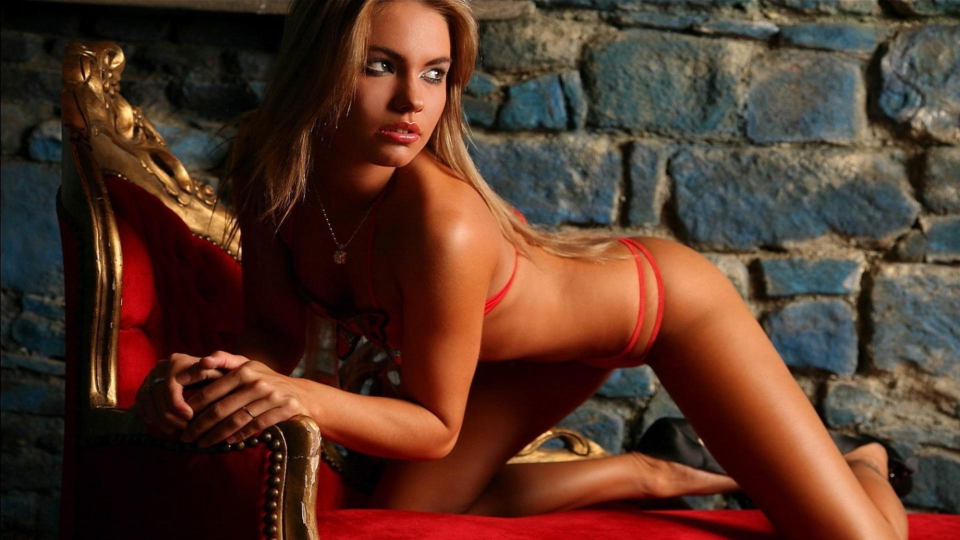 Секс с красотками моделями