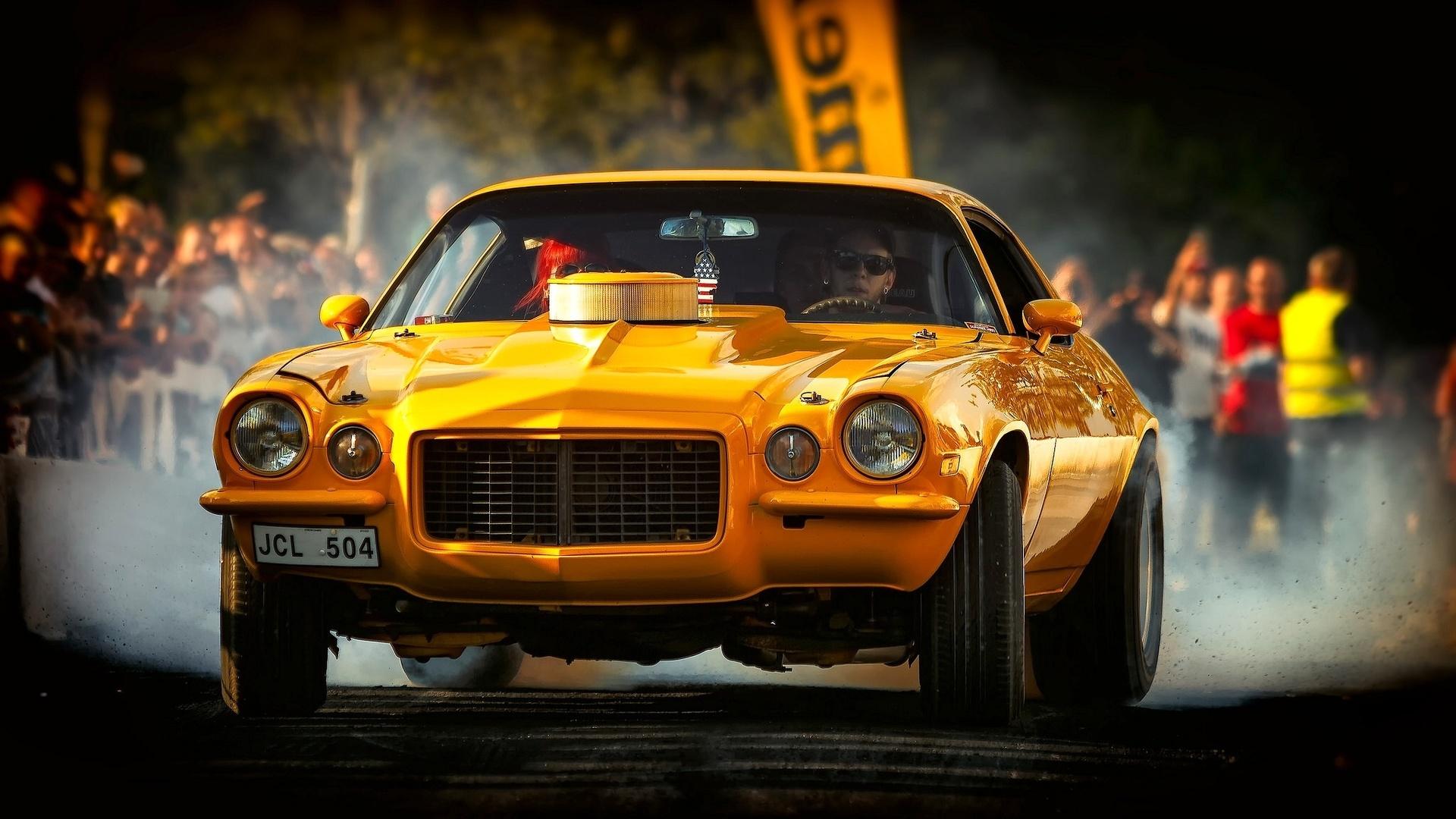 1972 chevrolet camaro, chevrolet camaro, chevrolet, camaro, yellow