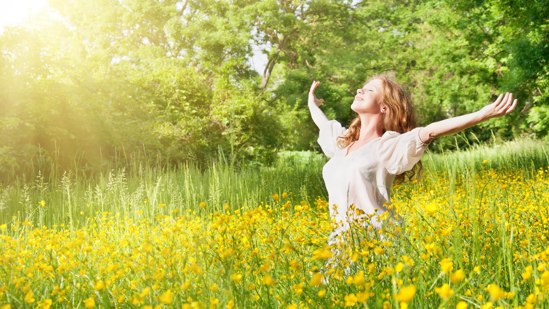 для дачи картинки радоваться жизни природа образом