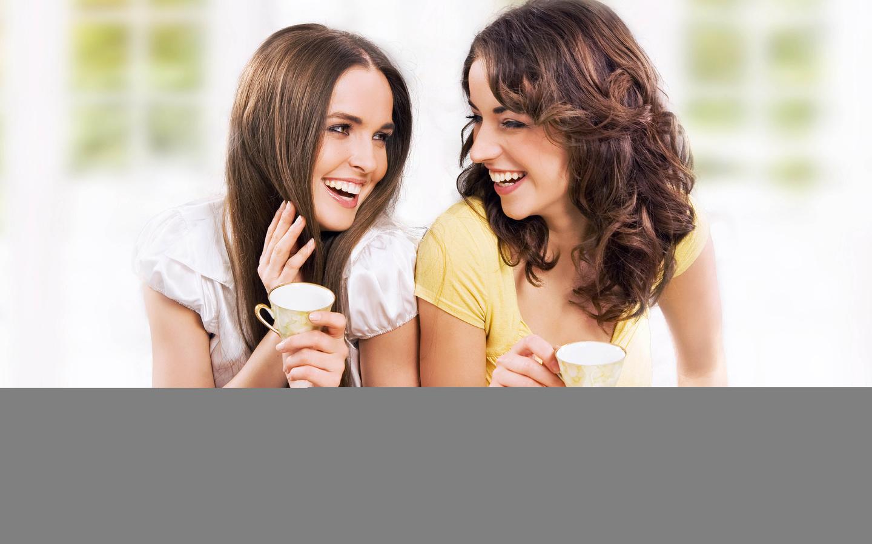 Открытки девушки и подруги