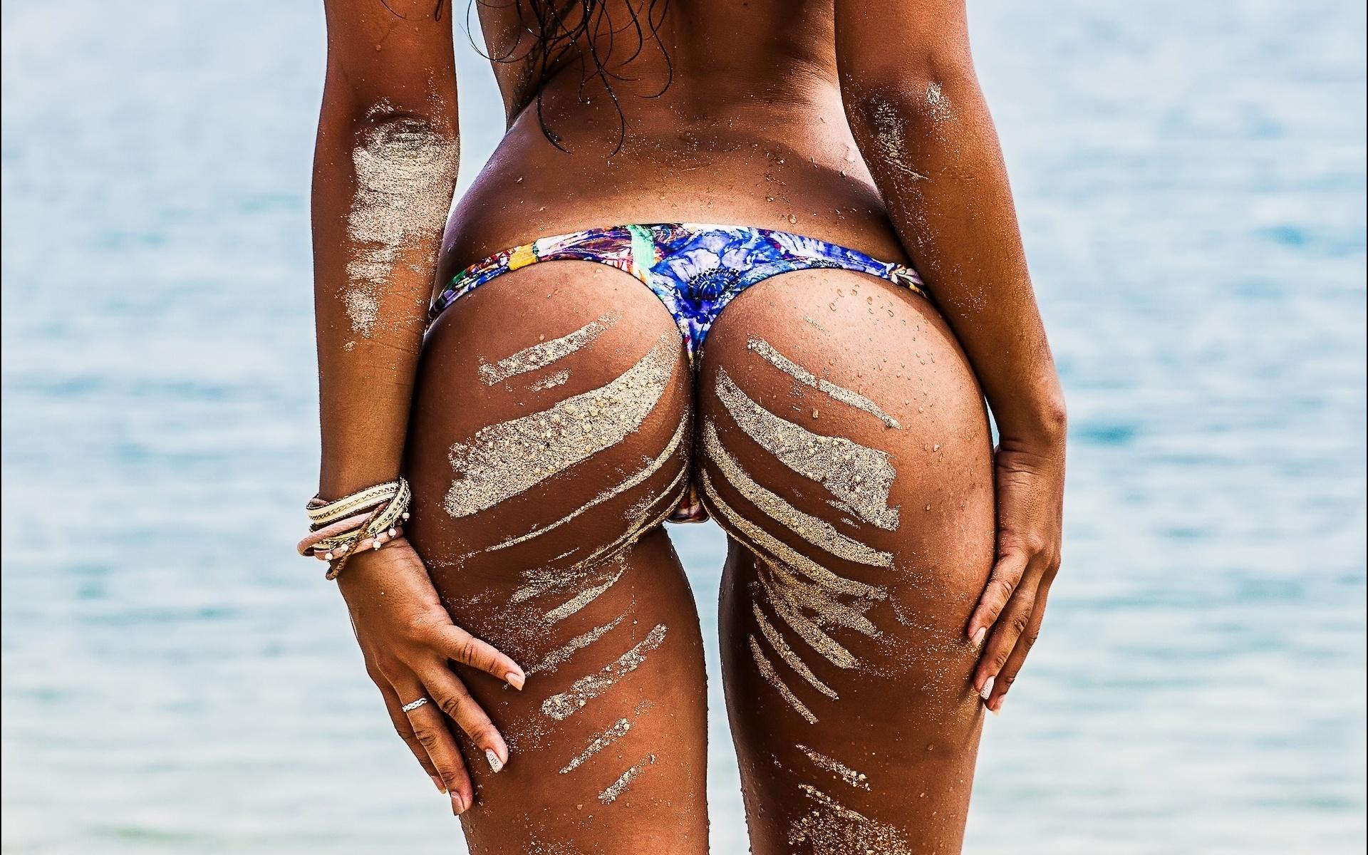 Красивые Попки С Пляжей